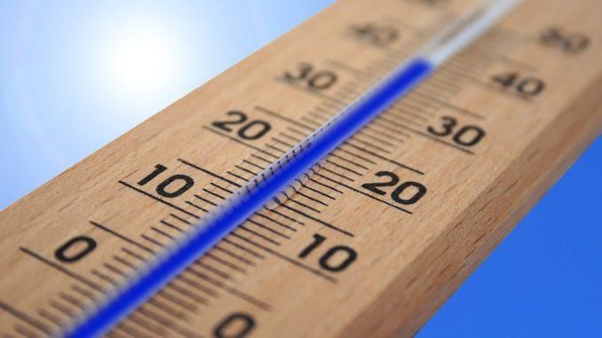 Aumento temperature in Umbria
